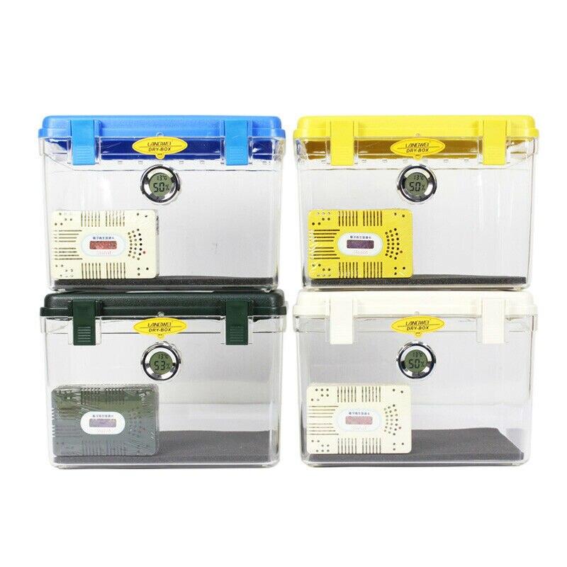 Roadfisher Waterproof Moistureproof Case Sponge Pad Hygroscopic Card Dry Protect Box Dehumidifier For DSLR Camera Lens
