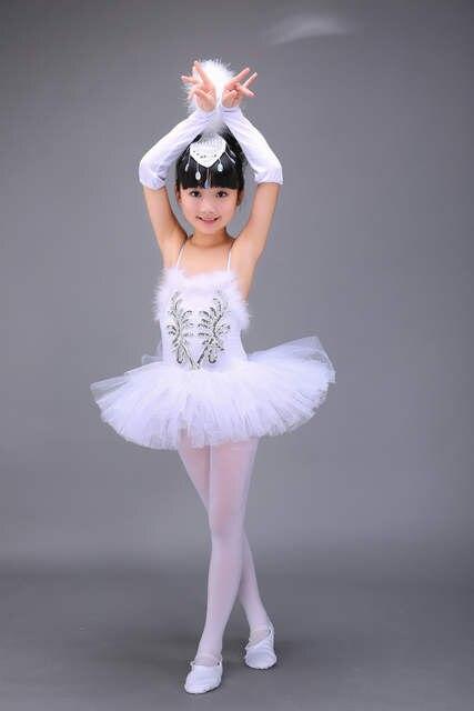f918400f24df Online Shop Professional White Swan Lake Ballet Tutu Costume Girls ...