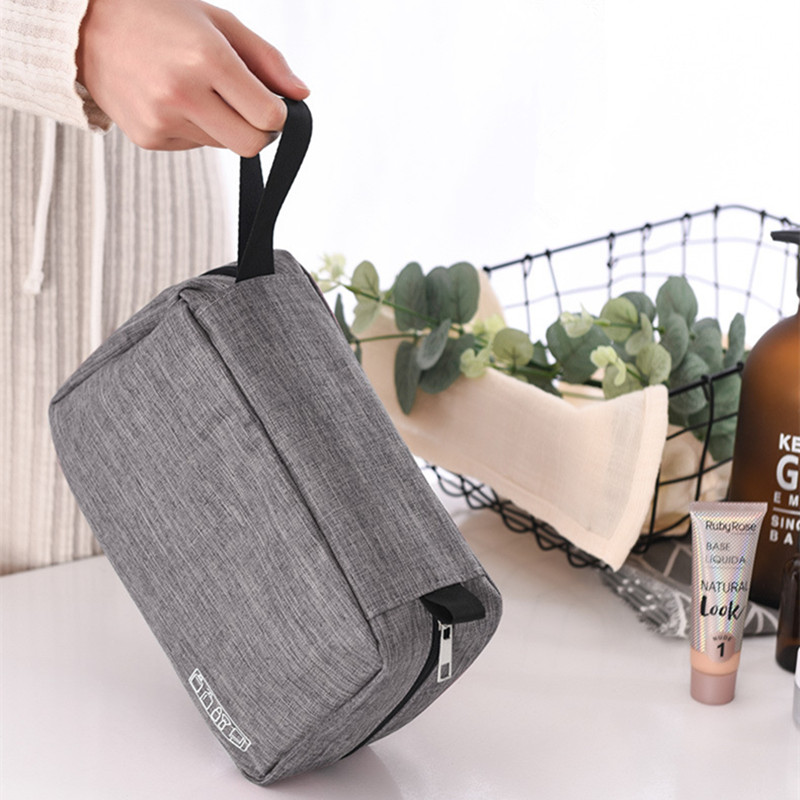Image 2 - Multi Function Storage Bag Waterproof Travel Hanging Organizer Portable Luggage Organizer Bathroom Toiletry Cosmetic Makeup Bags-in Storage Bags from Home & Garden