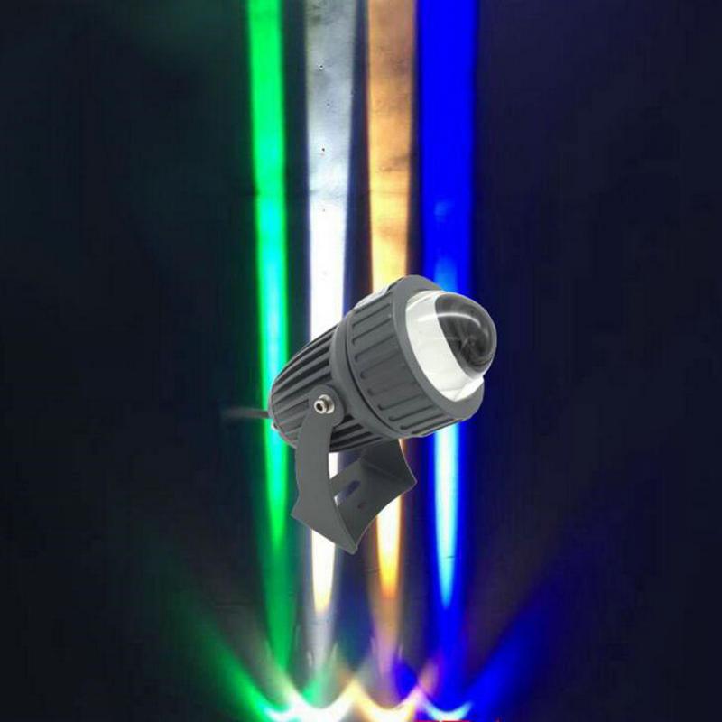 10W 12W жарық диоды прожекторының шамының проектор шамы COB назарында CREE жарық сыртқы ашық су өткізбейтін ашық жарық 8PCS / LOT