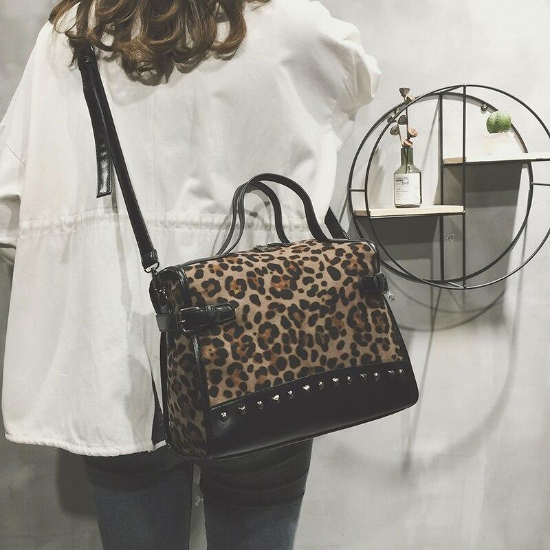 Delle Modo De Ribattino Sacchetto Femme Bag Principale Borsa A Sac Signore 1 Bandoulière Di Marche Del Luxe Leopardo Donne 2 3 Crossbody Famose 4vEYzSn