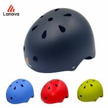 LANOVA CE Certification Safety Ski Helmet Rock Climbing Skating/Skateboard/Snowboard Size 50-55 CM