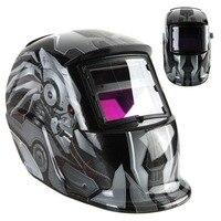 Transformers Style Cool Solar Auto Darkening Welding Helmet ARC TIG MIG Weld Welder Lens Grinding Welding