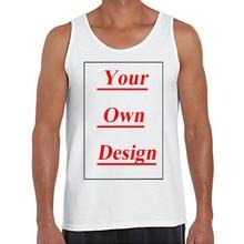 High Quality Customized Men Tank Tops Print Your Own Design Men Casual Vest  Basic Singlets( a1d36162c767