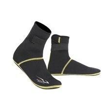 Зимняя теплая одежда для плавания, обувь для подводного плавания, носки для подводного плавания, пляжные ботинки, гидрокостюм, предотвращающий появление царапин
