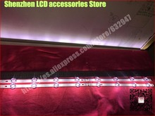8 piece/lot  FOR 8pcs LED strip For LG 42LB5610 42LB5500 42LF5800 42LB580V 42LB585V LC420DUE FG   4PCS A+ 4PCS B   100%NEW