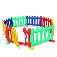 6 pieces/sets of baby play fence anti fall baby crawling toddler bar fence toy house child safety detachable protective fence