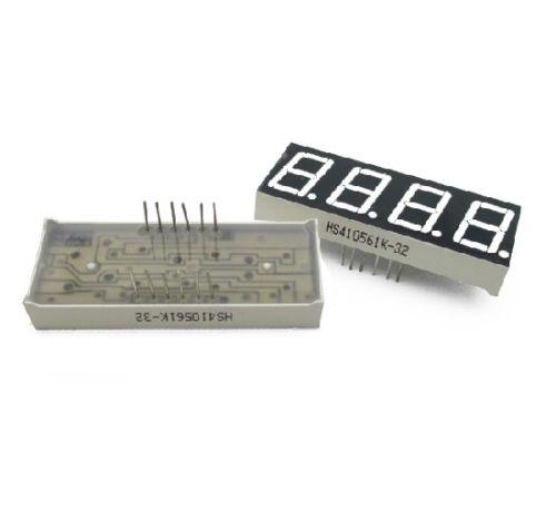5 PCS 0.36 4 digit led display 7 seg segment Common cathode Red NEW 3 5 digit 7 segment lcd display module