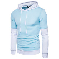 New Cotton T Shirt Spring Autumn Fashion Mens T Shirt Homme Men S Long Sleeved Hooded