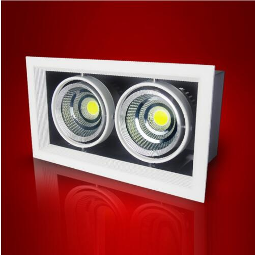 Square LED Spot Light COB Light 3w 7w 12w 15w LED Recessed Ceiling Light Lamp Single/Double Head LED Grille Spot Light luminaireSquare LED Spot Light COB Light 3w 7w 12w 15w LED Recessed Ceiling Light Lamp Single/Double Head LED Grille Spot Light luminaire