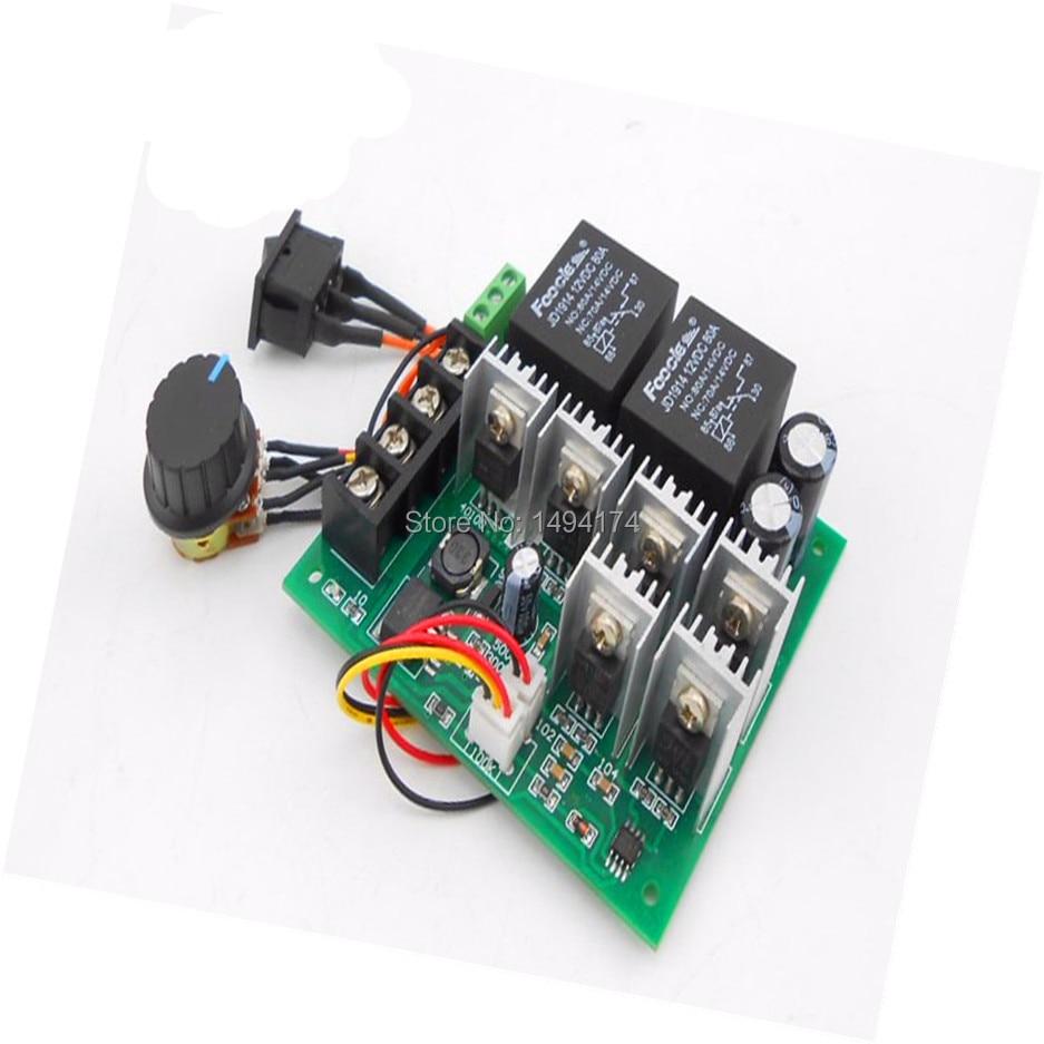Wqscosea Q8s-239 Dc 6-60v Max30a Pwm Motor Speed Control Controller Switch Board Digital Led Display 6v 9v 12v 24v 36v 48v 60v Computer & Office