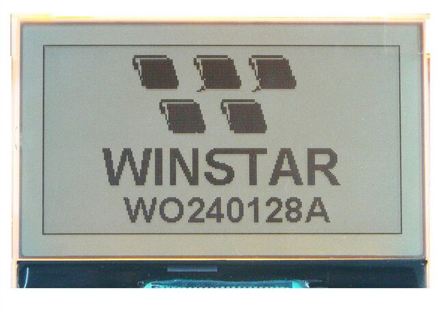 WO240128A-TFH WINSTAR Graphic LCD 240 x 128 dots COG LCD module ,New and original new and original lcd lm32k10