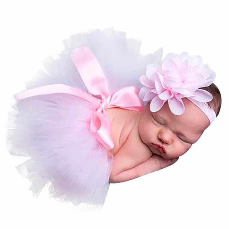 2020 יילוד תינוק בנות בני תלבושות תמונת צילום נכס יילוד חליפת צילום תינוקת אבזרים לשיער