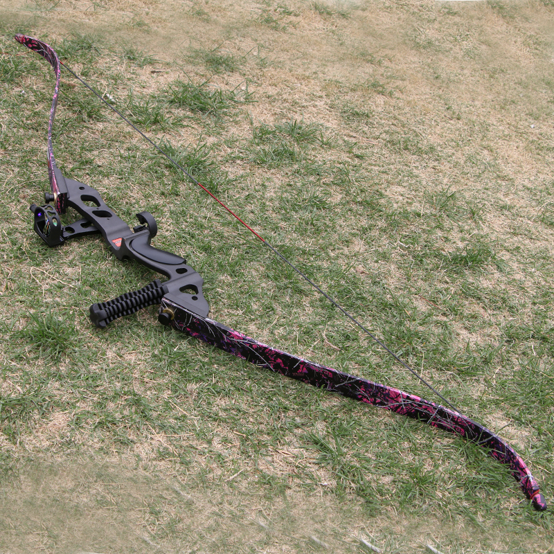 35 45lbs 60inch Archery Take Down Hunting Bow Camouflage
