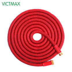 VICTMAX 5M 3X Expandable Latex Water Pipe Household Car Washing Garden Watering Hoses Pipe