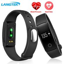 Умный Браслет ID 107 Heart Rate Monitor Watch Дистанционного Bluetooth Умный Браслет Браслет Шагомер Фитнес SmartBand Напоминание