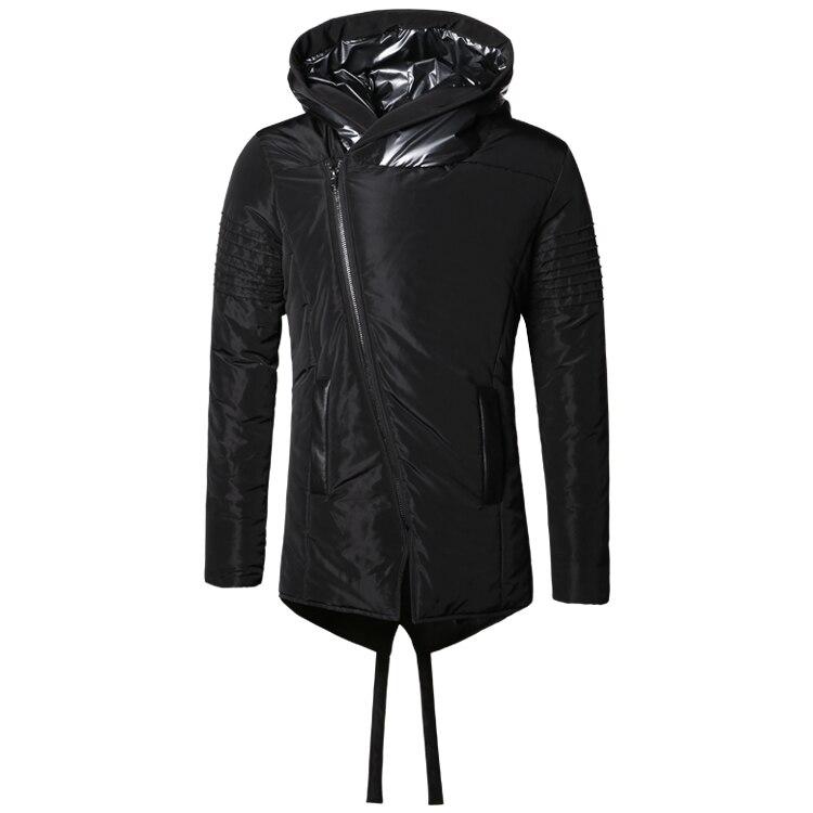 Image 4 - Новинка зимы Для мужчин куртки Утепленные зимние куртки Для мужчин s хлопковое пальто Для мужчин теплые парки для мальчиков утепленная толстовка с капюшоном верхняя одежда F2126-in Парки from Мужская одежда