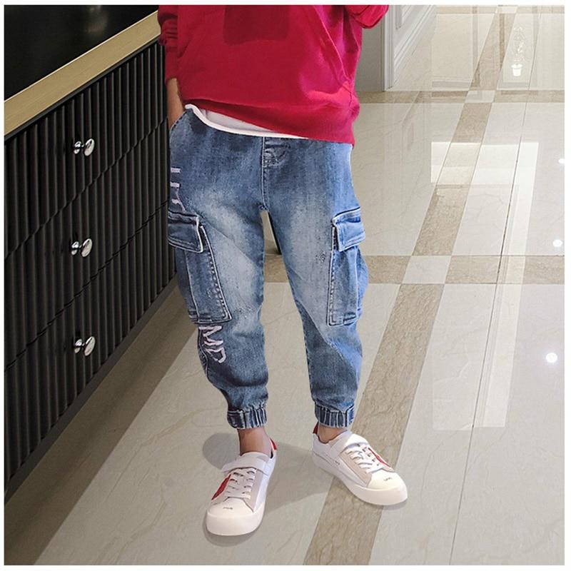 93ba06275d Los niños de la Escuela de deportes pantalones 2018 nuevos pantalones de otoño  niños Pantalones deportes