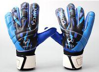 Hot!Full latex mesh goalkeeper gloves professional football goal keeper 4mm thicken finger protection guard goalie soccer gloves