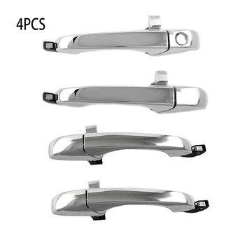 4 PCS עבור קרייזלר עבור 300C05-10 עבור דודג 'מגנום עבור 05-08 מטען עבור 07 חיצוני ידית דלת כרום סט