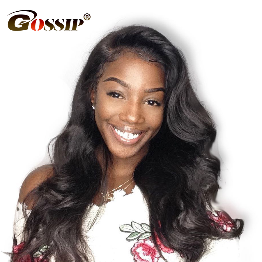 360 Lace Frontal Wig Brazilian Body Wave Human Hair Wigs for Black Women Pre Plucked Swiss Lace wig 150 Density Non Remy Wigs