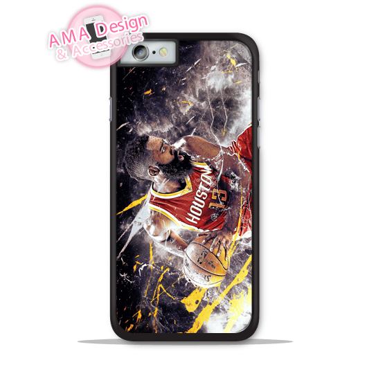 James Harden Basketball Fans Phone Cover Case For Apple iPhone X 8 7 6 6s Plus 5 5s SE 5c 4 4s For iPod Touch