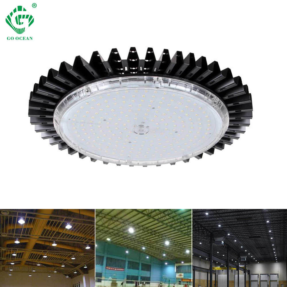 LED High Bay Lights UFO IP40 Retrofit Highbay Workshop Lamp 50W 100W 150W 200W Industry Factory Warehouse Industrial Lighting