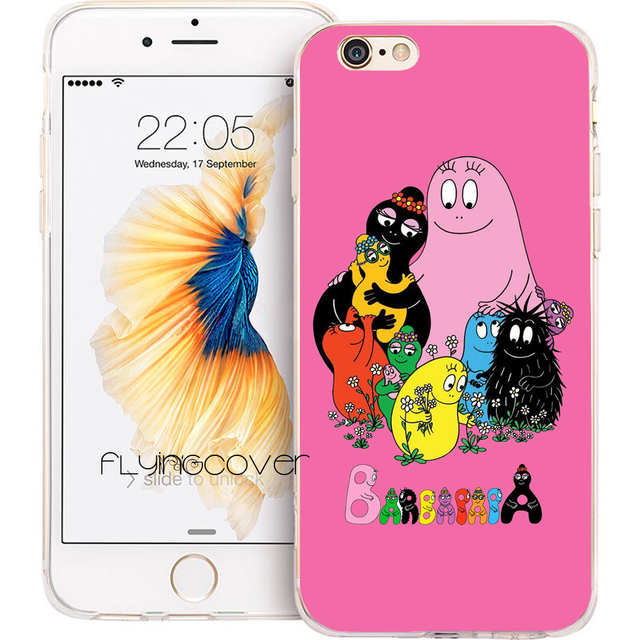 coque iphone 7 barbapapa