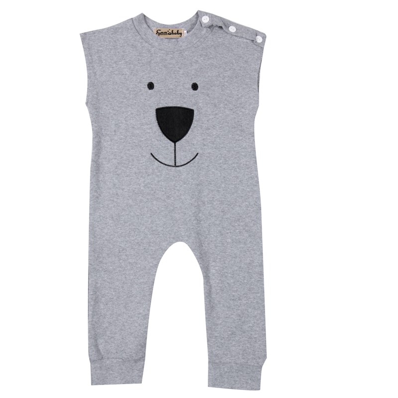 Newborn Winter Rompers Cute Toddler Baby Girl Boy Bear Jumpers Bebes Romper 2017 New Arrival Outfits Newborn Clothes Age 0-24M