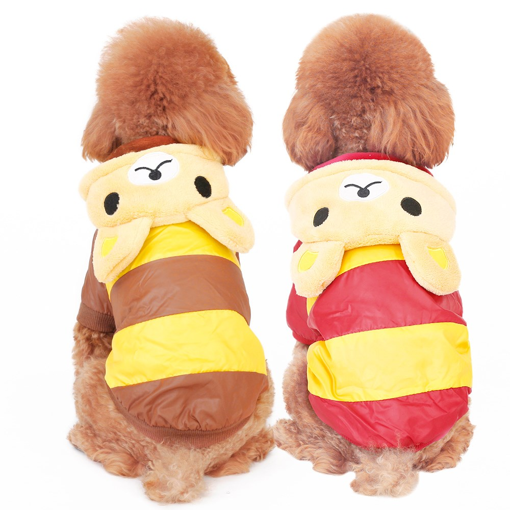 Pet Hoodie Dog Clothes Puppy Jumpsuit Coral Pullover Funny Outfits Dog Coat Fur Pet Fleece Jacket Ropa Perros Costume 60M0016