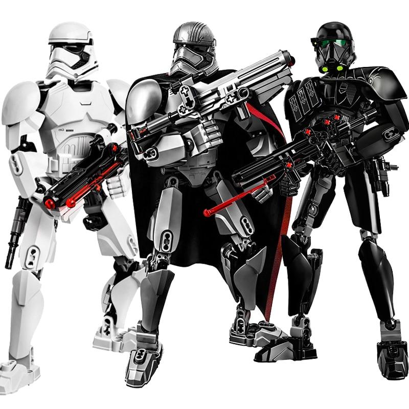 Wars General Grievous With Lightsaber Storm Trooper Figure Models Building Blocks Sets Toys For Children Boys Juguetes Legoings