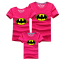2015 Batman Father Mother Baby T-shirt Family Look Shirts Cotton Match Family Clothing Fashion family matching outfits c20