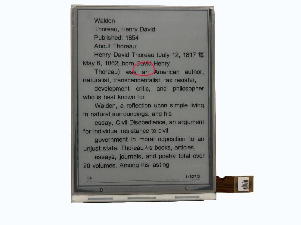 6 INCH LCD screen for Amazon kindle 3 / KINDLE KEYBOARD / KINDLE KEYBOARD 3G ED060SC7(LF)