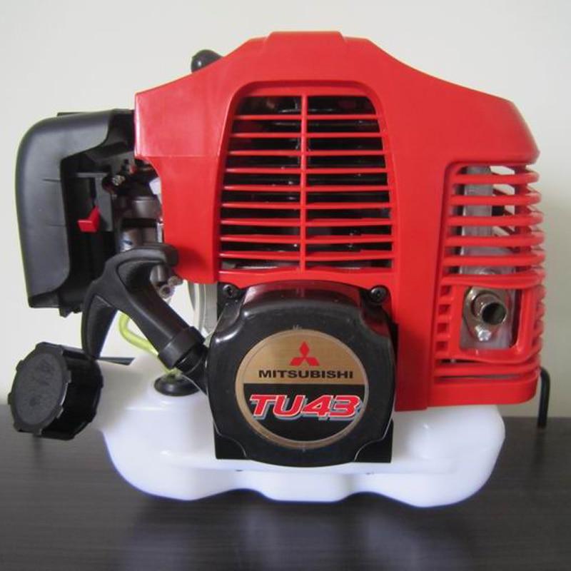 Two-stroke TU43 Petrol Engine Lawn Mower Engine Lawn Mower 43cc Brush Cutter Gasoline Engine  цены