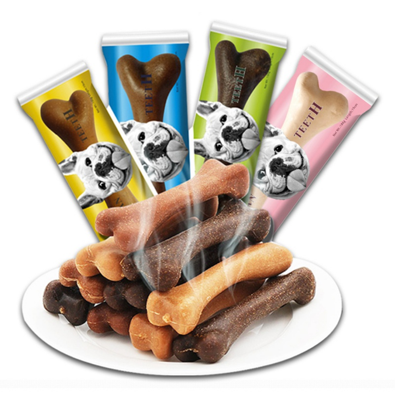 Pet Dog Dental Chews Bone Natural Large Smart Bones For Dogs Snack Food Treats Dogs Bones For Pets Supplies Toys image