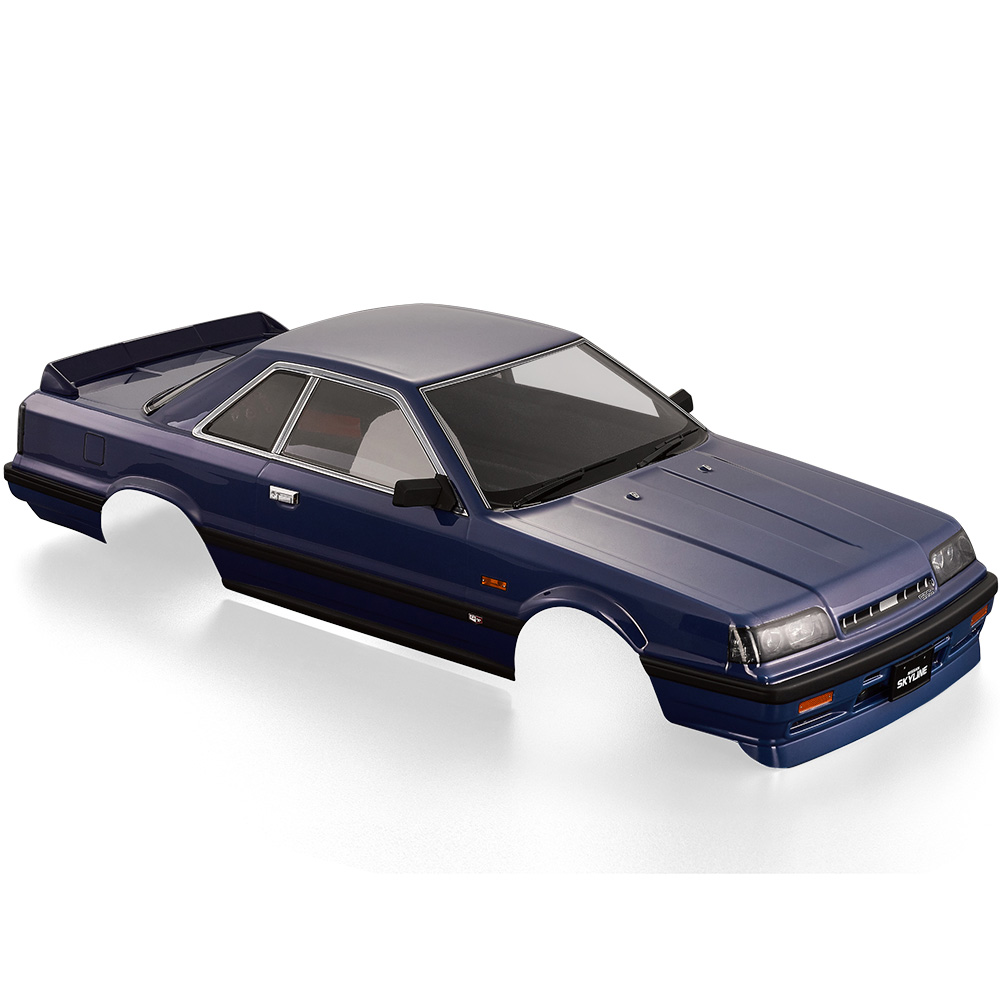 RC Car Body Shell 48678 Nissan Skyline (R31) Finished Shell for 1:10 Electric Touring RC Racing Car DIY Parts 022 blue shell body for 1 10 rc racing car 1 10 rc car body shell 190mm 2pcs lot free shipping