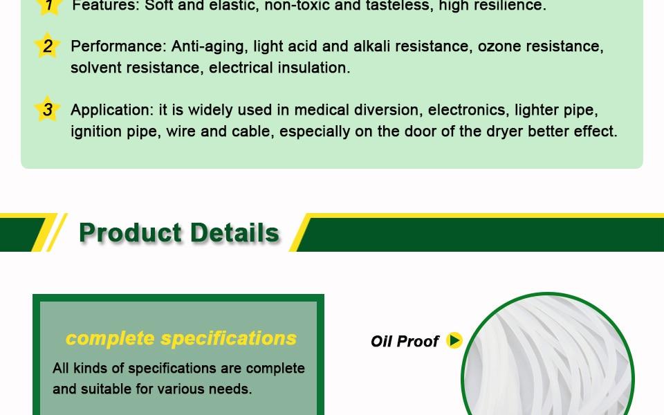 Silicone Rubber Seal strip (3)