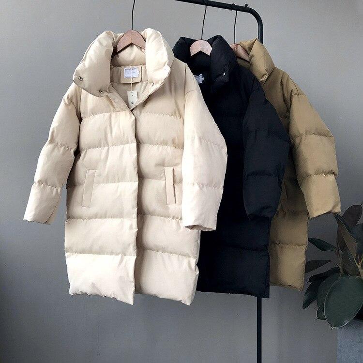 Hxjjp grosso jaqueta feminina inverno 2019 outerwear