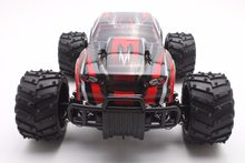 RC Araba 27 MHZ Kaya Paletli Ralli Araba 2WD Kamyon 1:16 Ölçekli Off-road Yarışı Araç Buggy Elektronik RC Model Oyuncak S727-Red(China)
