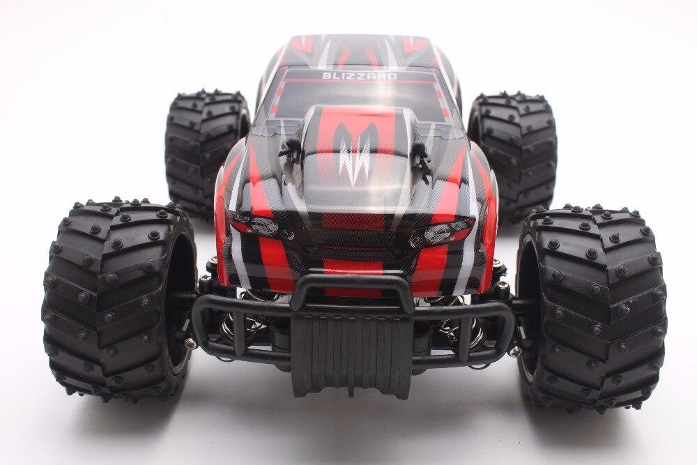 RC Coche 27 MHZ Rock Crawler 1:16 Escala 2WD Truck Rally Car Off-road Carrera de