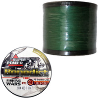 Asconfish 2000M Supper Strong Saltwater Fishing Japan Mulifilament PE Braided Fishing Line 4 Weaves Braided