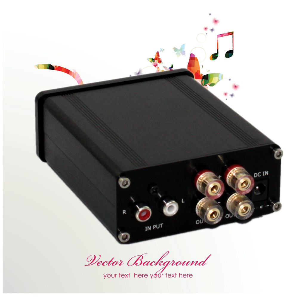 Desk Mini Hifi Digital Audio Power Amplifier 100w High Can Tda1521a Stereo Circuit Push 6 8 Inch Speakers Sound Clear And Bright In From Consumer Electronics On