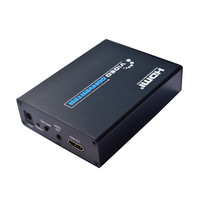 2019 New SCART to HDMI Scaler Box CVBS YC RGB To HDMI Video Audio Upscale Convert AV Signal Adapter 720P/1080P For TV DVD