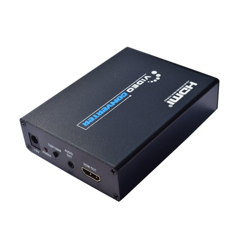 2019 nouveau péritel vers HDMI Scaler Box CVBS YC rvb vers HDMI vidéo Audio haut de gamme convertir adaptateur de Signal AV 720 P/1080 P pour TV DVD