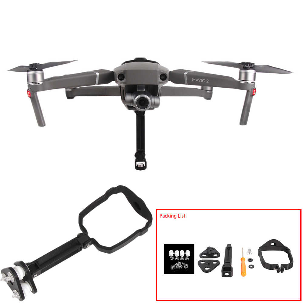 360 Degree Mount Bracket Holder For Dji Mavic 2 Pro Zoom Drone Camera Stand Adapter For Gopro Action Sports Camera Accessories Drone Accessories Kits Aliexpress