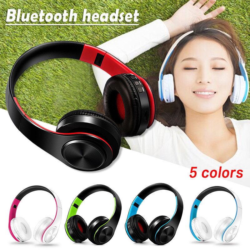 New Wireless Headphones Digital Stereo Bluetooth4.0 EDR Headset Card MP3 Player Earphone FM Radio Music for xiaomi/iPhone/huawei ms991 wireless headphones digital stereo bluetooth 4 2 edr headset card mp3 player earphone fm radio music for all