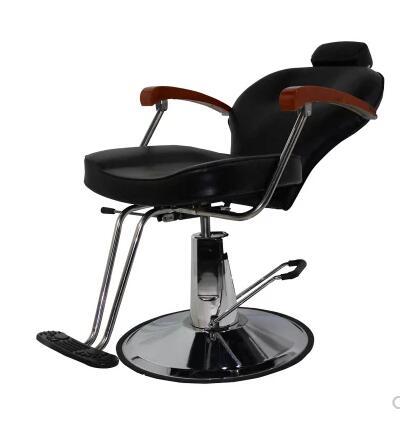 Barber Chairs Hair Salon Chair Hair Chair Put Down Hair Chair Lift Manufacturer Direct Selling Commercial Furniture