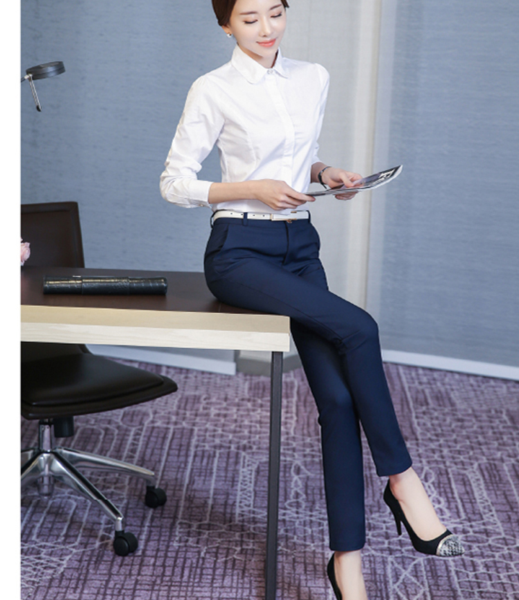 Women Pencil Pants 2019 Autumn High Waist Ladies Office Trousers Casual Female Slim Bodycon Pants Elastic Pantalones Mujer 21