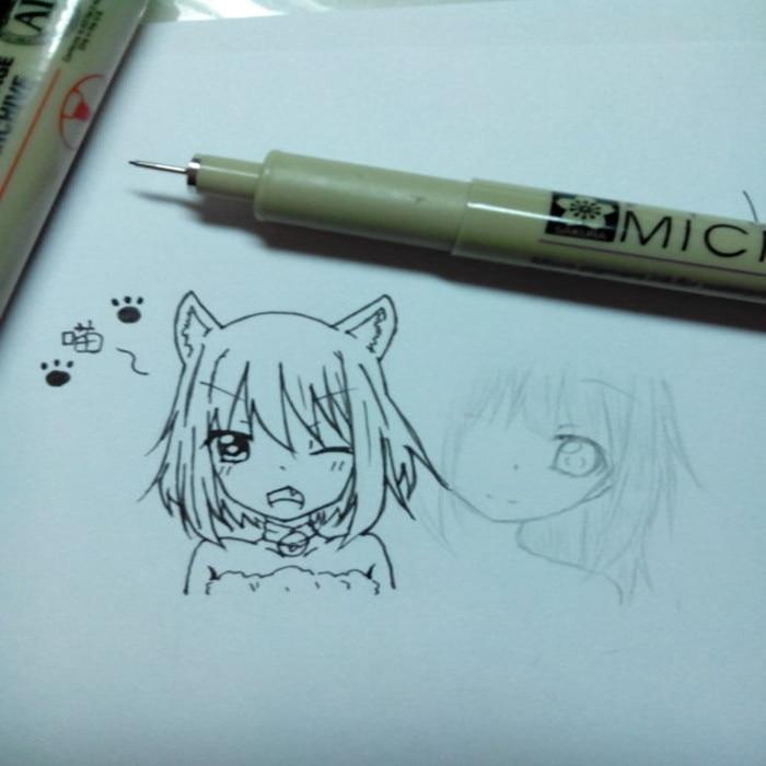 Set of 6 Pigma Sakura Micron Pens 4