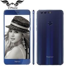 Original Huawei Honor 8 4G LTE 5.2″ FHD 1920*1080 Mobile Phone Kirin950 Octa Core Android 7 4GB 64GB 12MP 8MP 3000mAh NFC Phone